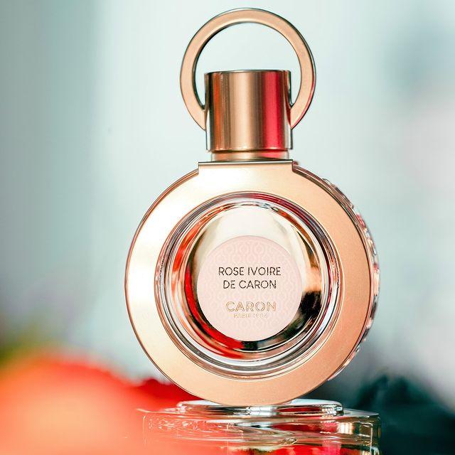 ROSE IVOIRE, un vrai concentré de CARON.   ROSE IVOIRE is CARON in a bottle.